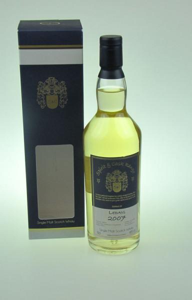 Ledaig aus der Tobermory Distillery Spirit & Cask Range Heavily Peated 2007 48 %Vol