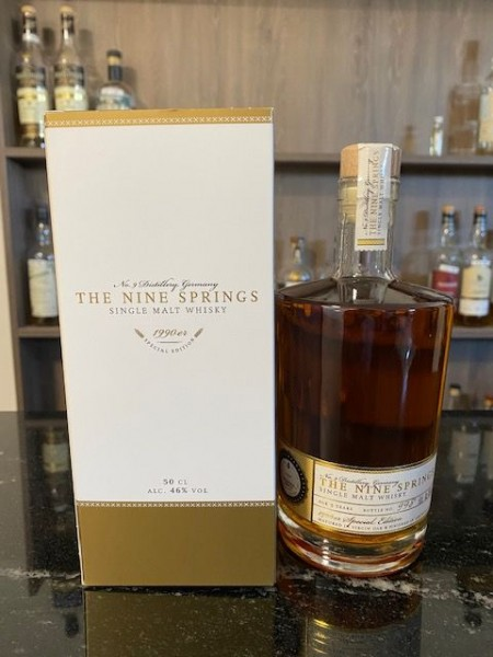 The Nine Springs - 1990er Special Edition 46 %Vol Finished in Amontillado