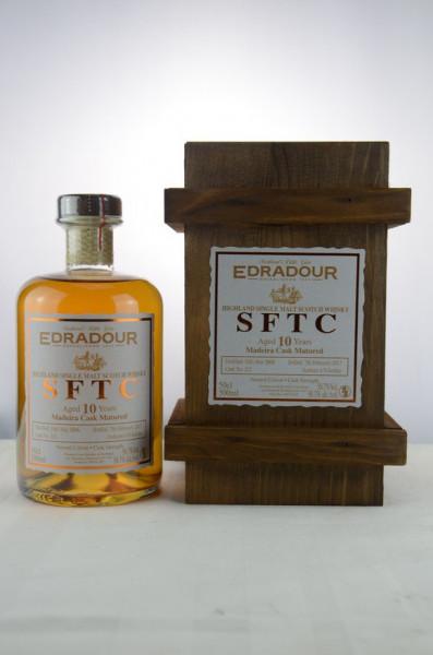 Edradour SFTC 10 y.o. 2006/2017 Madeira Cask - 500ml Cask No. 225 58,7 %Vol 470 Bottles