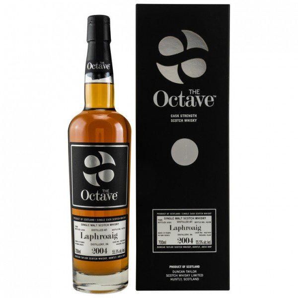 Duncan Taylor Laphroaig Peated 2004/2020 The Octave 15 y 2004. 2020 55,5 %Vol