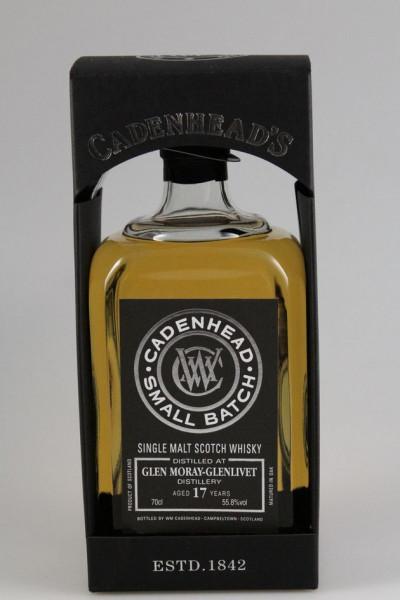 Cadenhead`s Glen Moray Distillery 1998 17 y 55,8 %Vol 504btls. Bourbon Hogshead