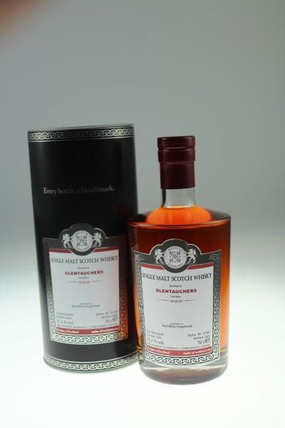 Malts of Scotland Glentauchers 2002 MoS20038 51.2% Red Wine Hogshead