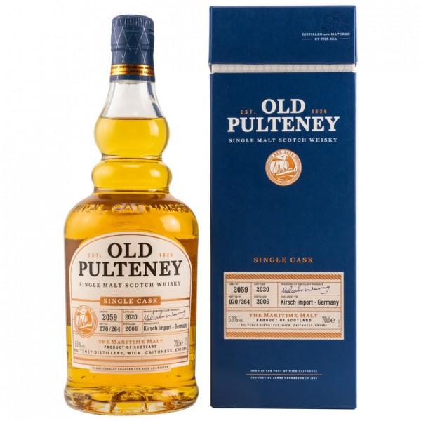 Old Pulteney Single Cask Exclusive Kirsch Import 14 y 53 %Vol