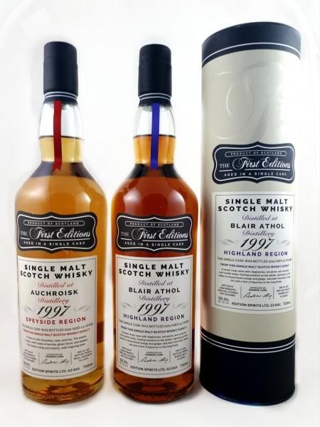Hunter Laing First Editons Blair Athol Sherry Butt 23 y 1997 55,3 %Vol