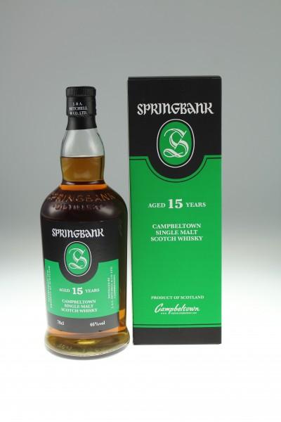 Springbank 15 y 2020 46 %Vol 100% Sherry Cask