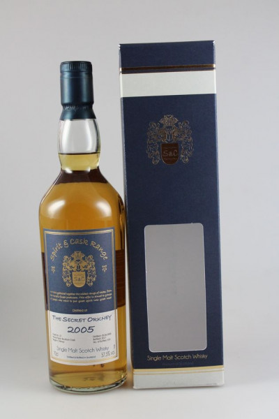 Secret Orkney Spirit & Cask Range Bourbon Cask 2005 57,5 %Vol nur 370 Flaschen