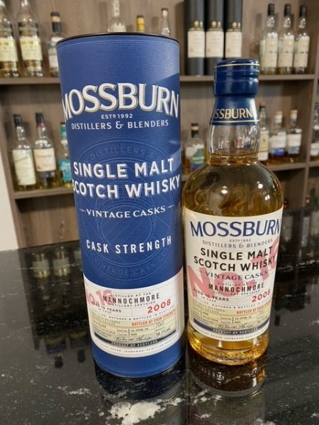 Mossburn Mannochmore 10y Bourbon Cask 56,1 %Vol