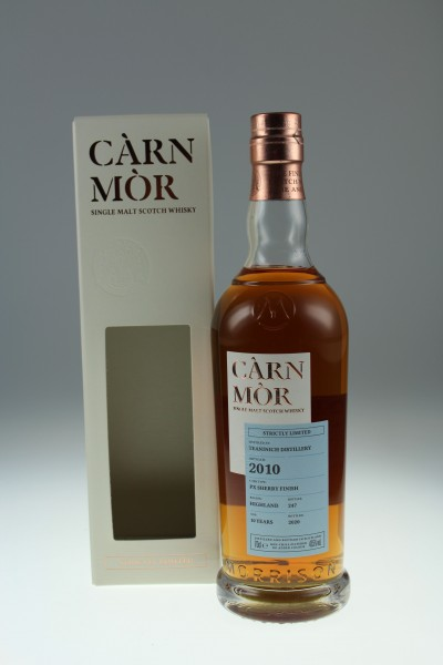 Carn Mor Teaninich 2010 2020 10 PX Sherry Finish Highlands 47,5%Vol