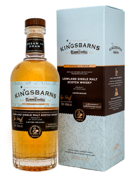 "First Single Malt Release: KINGSBARNS ""DREAM TO DRAM"" 46 %Vol"
