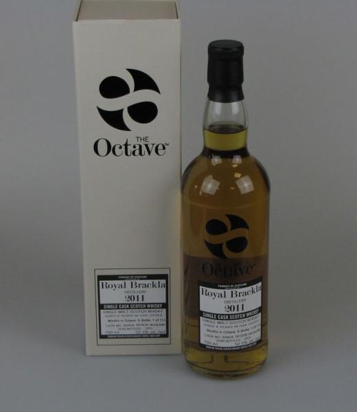 Royal Brackla 2011 4 y Duncan Taylor Sherry Octave Cask 939429 52,5%