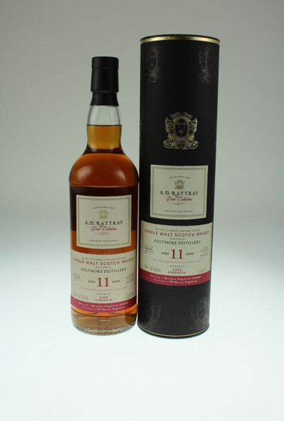 Aultmore, A.D.Rattray, PX sherry finish, 2006, 11 y, 58,7 %