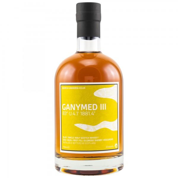 Scotch Universe GANYMED III 2013/2020 6 y 67,6 %Vol Ein Islay Malt aus einer 1881 gegründeten Dest