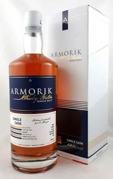 """Armorik """"Vibrant Stills"""" pour Allemagne, Single Port Cask 12 y 2008 55,1% Vol"""