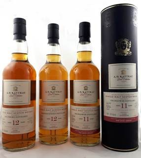 A.D.Rattray Aultmore, 2008, 12 y 63,5 %Vol, Sherry Butt