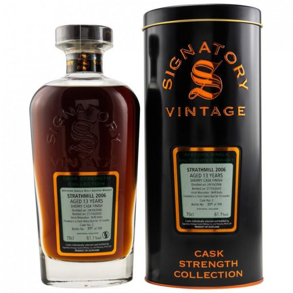 Signatory Strathmill 13y 61,1 %Vol Sherry Butt