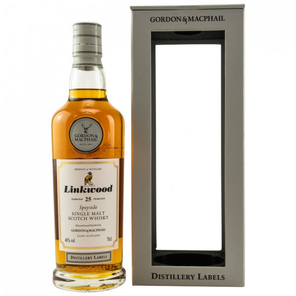 Linkwood Gordon & MacPhail Distillery Label 25y 46 %Vol Bourbon & Sherrycasks