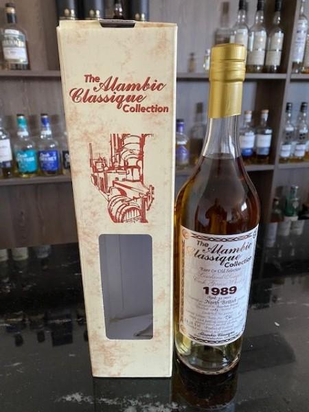 ALAMBIC CLASSIQUE North British 54,3 %Vol 1989 32y Bourbon Barrel