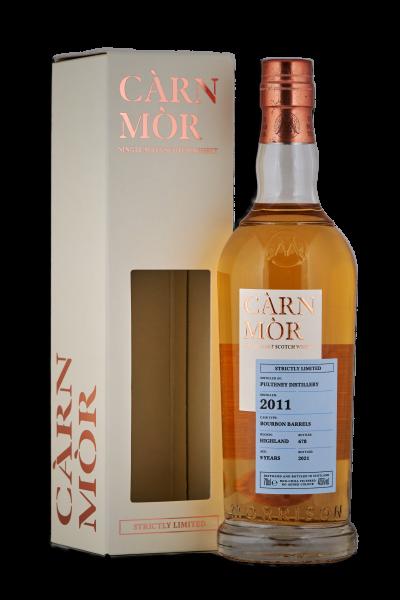 Carn Mor Pultney 2011 2021 9 y Bourbon Barrels Highlands 47,5 %Vol