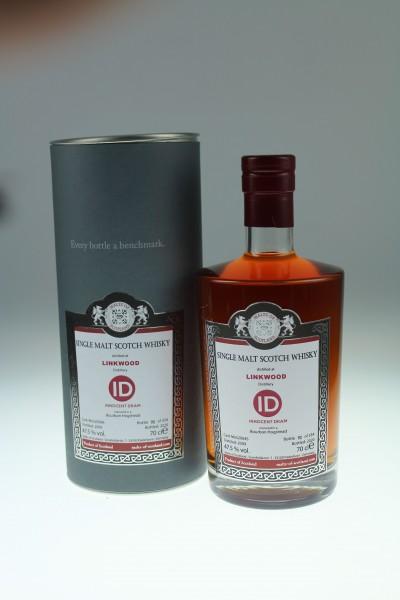 Malts of Scotland Linkwood 2009 47.5%Vol MoS20045 Bourbon Hogshead