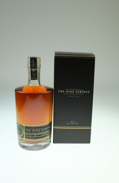 The Nine Springs - Triple Cask 46 %Vol 0,5l