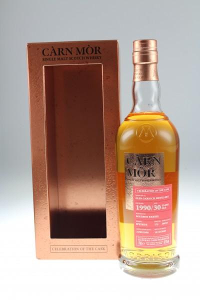 Carn Mor Glen Garioch 21.02.1990 14.10.2020 30y Bourbon Barrel Highlands 52,2%Vol