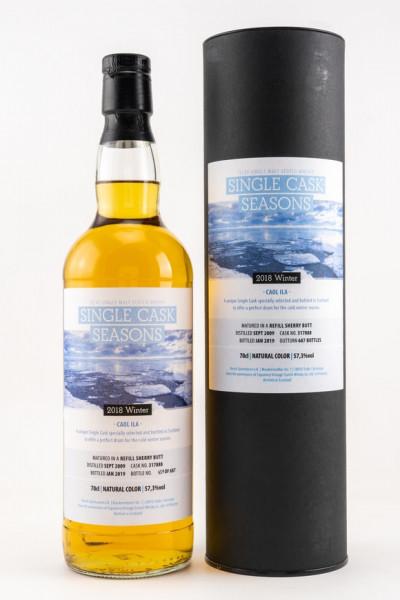 Caol Ila 2009/2019 Single Cask Seasons Winter 57,3% Kirsch Whisky 9y 687 Flaschen