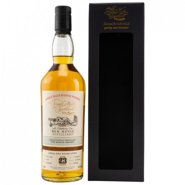 The Single Malts of Scotland Ben Nevis 23y 53,8 %Vol 214 Flaschen Hogshead
