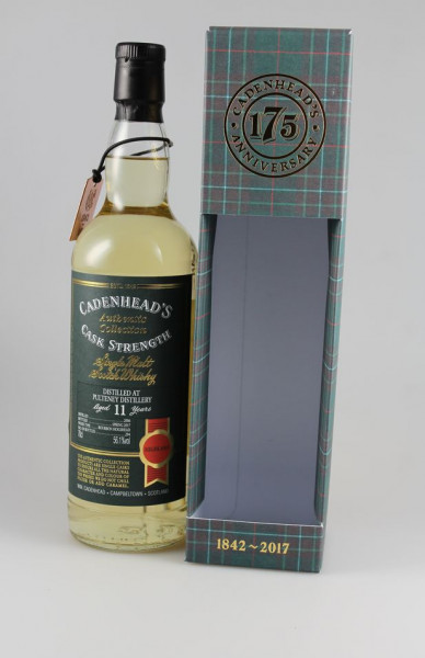 Cadenhead`s Pulteney 2006 11 y 56,1 %Vol 294 bottles Bourbon Hogshead