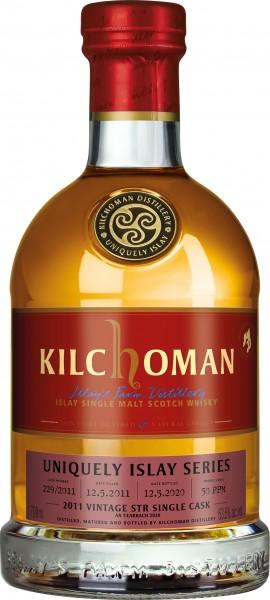 Kilchoman Vintage 2011 53,5 %Vol STR Wine Cask Finish Cask 229/2011