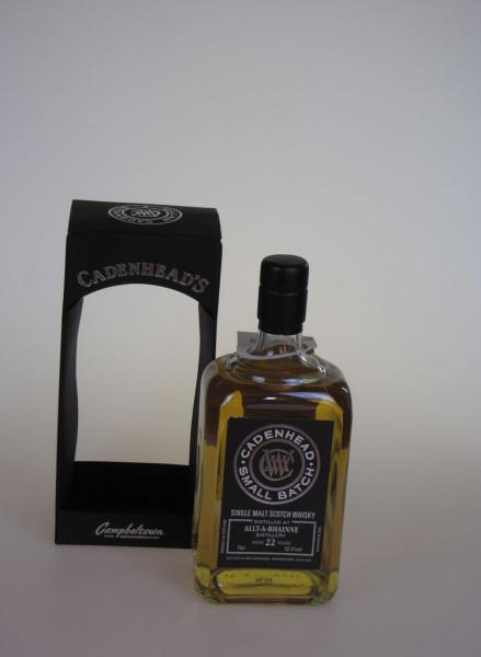 Cadenhead`s Allt-a-Bhainne Distillery 1992 22y 52,5 %Vol (Whisky)