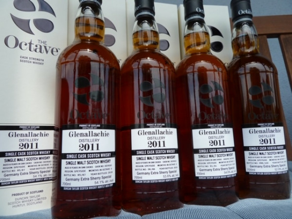 Duncan Taylor Glenallachie 2011 8 y Germany Extra Special Sherry Octave Cask 3024573 52,8%