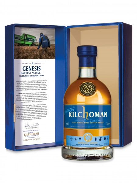 Kilchoman Genesis · Limited Edition Harvest · Stage 1 · Days 1-5 48 %Vol