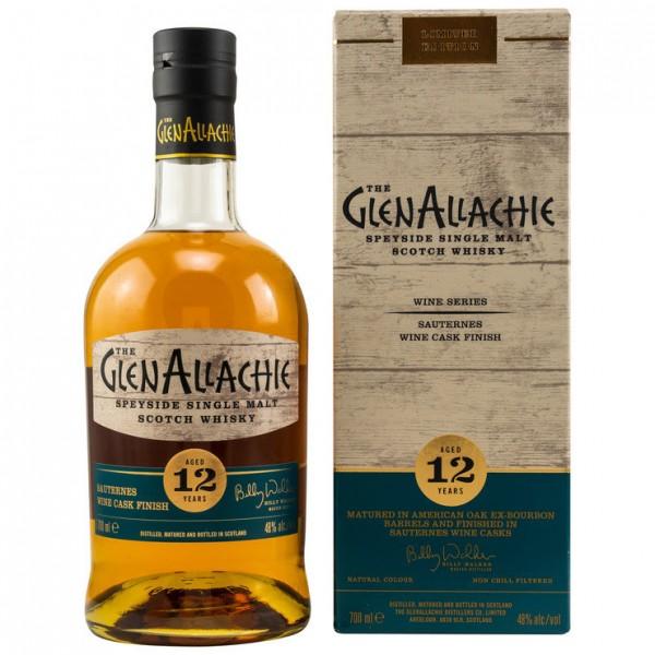 GlenAllachie 12 y Sauternes Cask Finish 48 %Vol