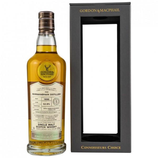 Bunnahbhain 1998/2021 Gordon & MacPhail Connoisseurs Choice 21y 52,9 %Vol refill Hogshead