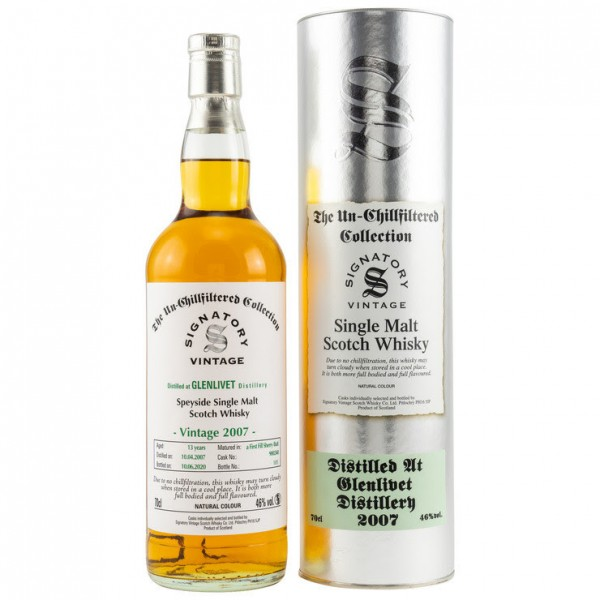 Glenlivet 13 y Cask Nr. 900240 Signatory Un-Chillfiltered Collection 46,0 % Vol. 1st fill Sherry But