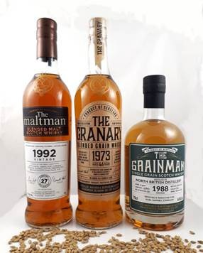 Grainman THE GRANARY, Blended Grain Whisky, 1973, 46 years old, 50,1 % Single Sherry butt