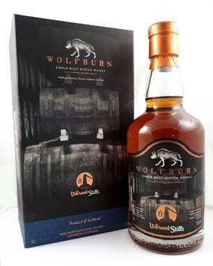 """Wolfburn """"Vibrant Stills"""" exklusiv für Deutschland PX Sherry Cask, distilled 2015, bottled 2019, 50% vol."""