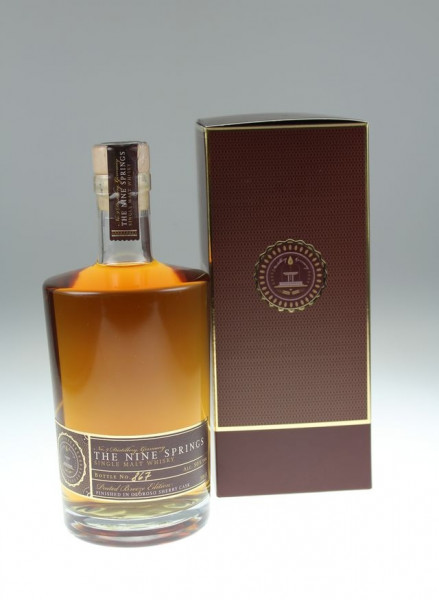 The Nine Springs Peated Breeze Edition Sherry Cask 50 %Vol