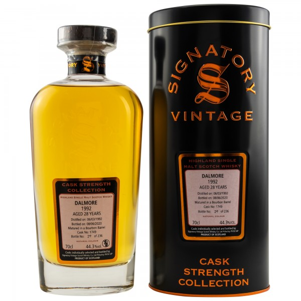 Signatory Dalmore 1992/2020 28y 44,3 %Vol Bourbon Barrel 231 Flaschen