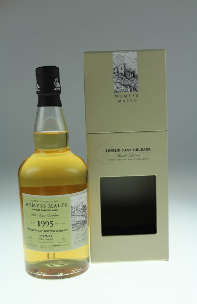 Wemyss Hazelnut Praline 1995 23 years 46% 339 bottles Distilled at Glen Keith Distillery