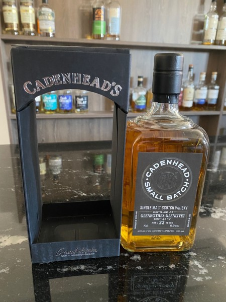 Cadenhead`s Glenrothes Distillery 1996 22 y 49,7 % Hogsheads 966 bottles