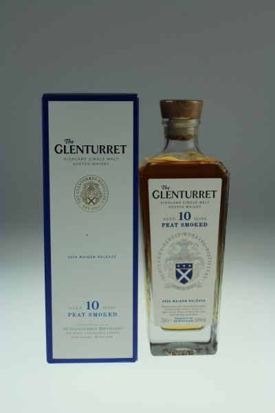 Glenturret 10 Years Old Peat Smoked 50 %Vol