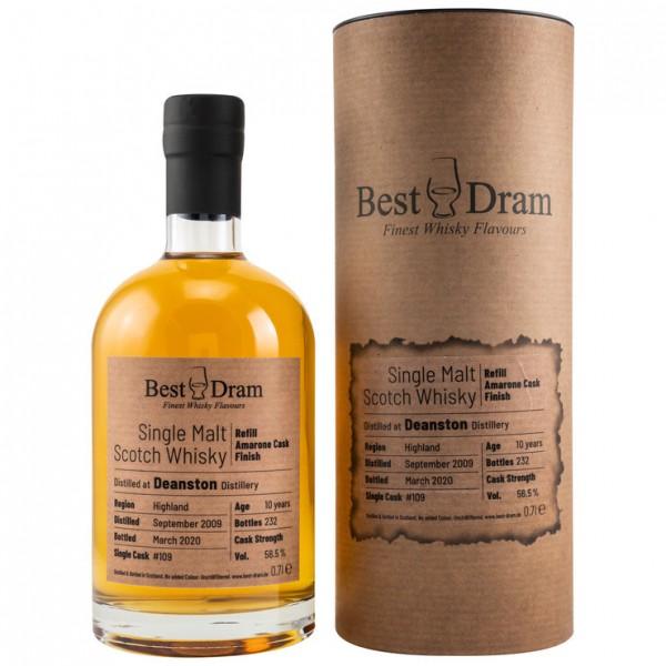 Best Dram Deanston 2009/2020 - Amarone Finish 10y 56,5 %Vol