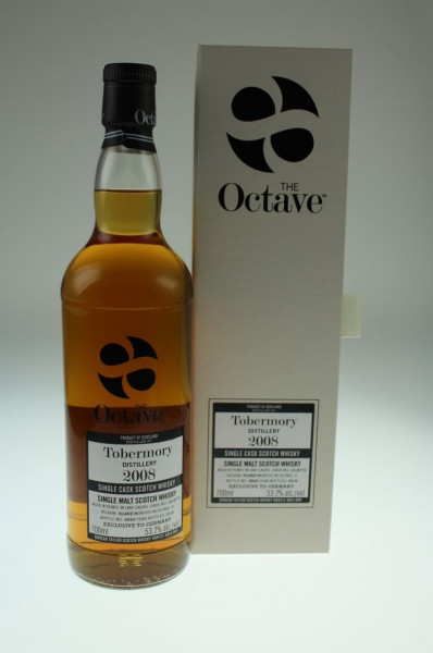 Duncan Taylor Tobermory Brennerei 2008 9y Sherry Octave 53,2%